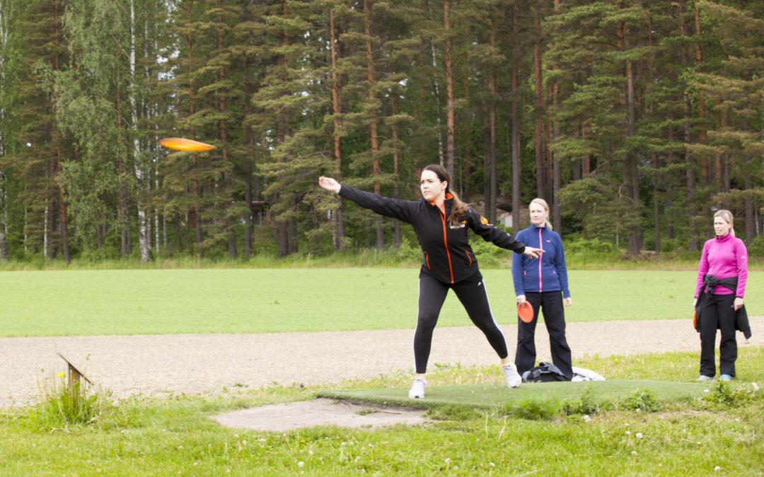 Kiipulan frisbeegolfrata suljettu 3.10.2021