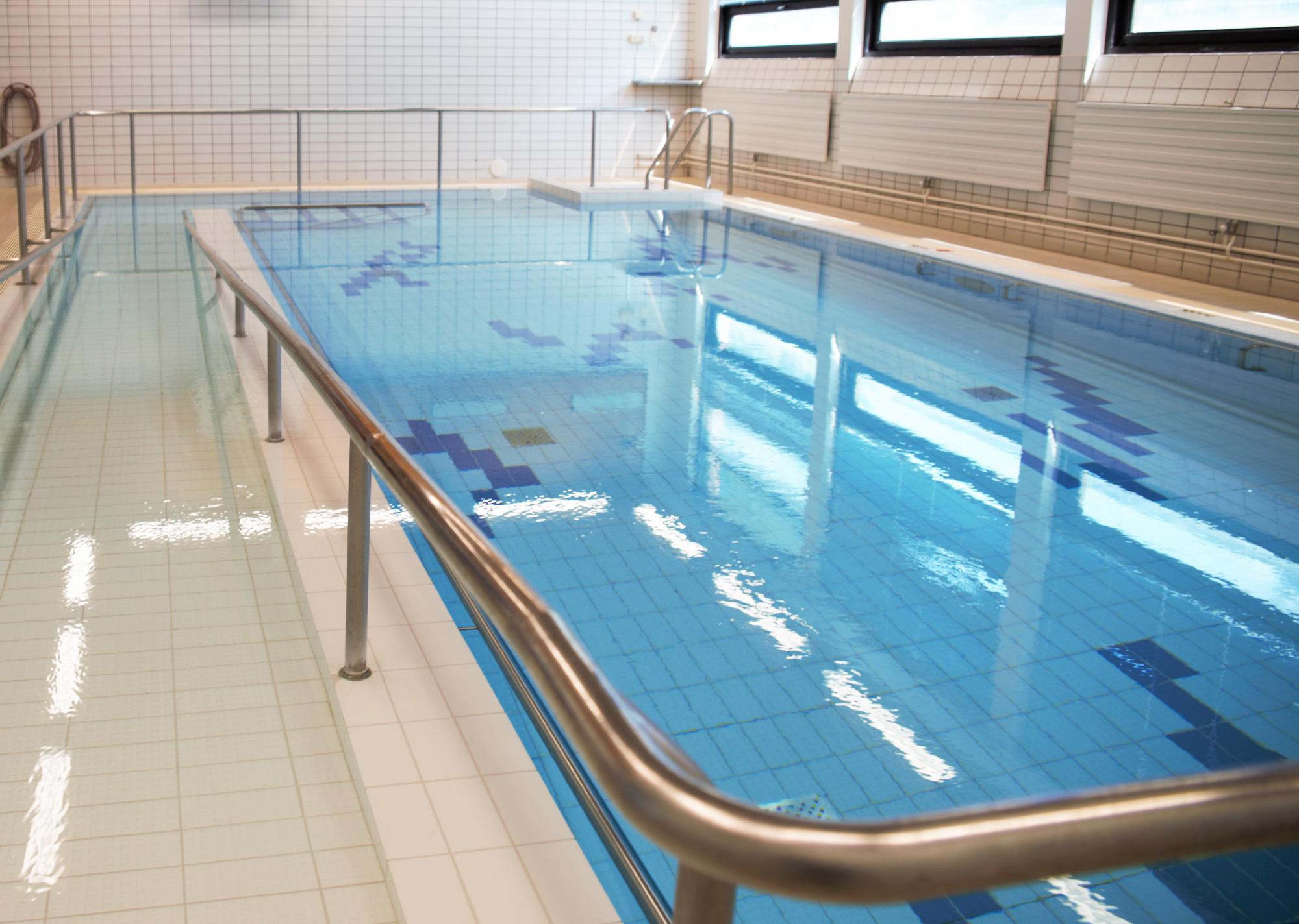 Terapia-allas Kiipulan uimahallissa.