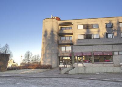 Kiipulan ammattiopiston tilat Hämeenlinnan Punaportilla..