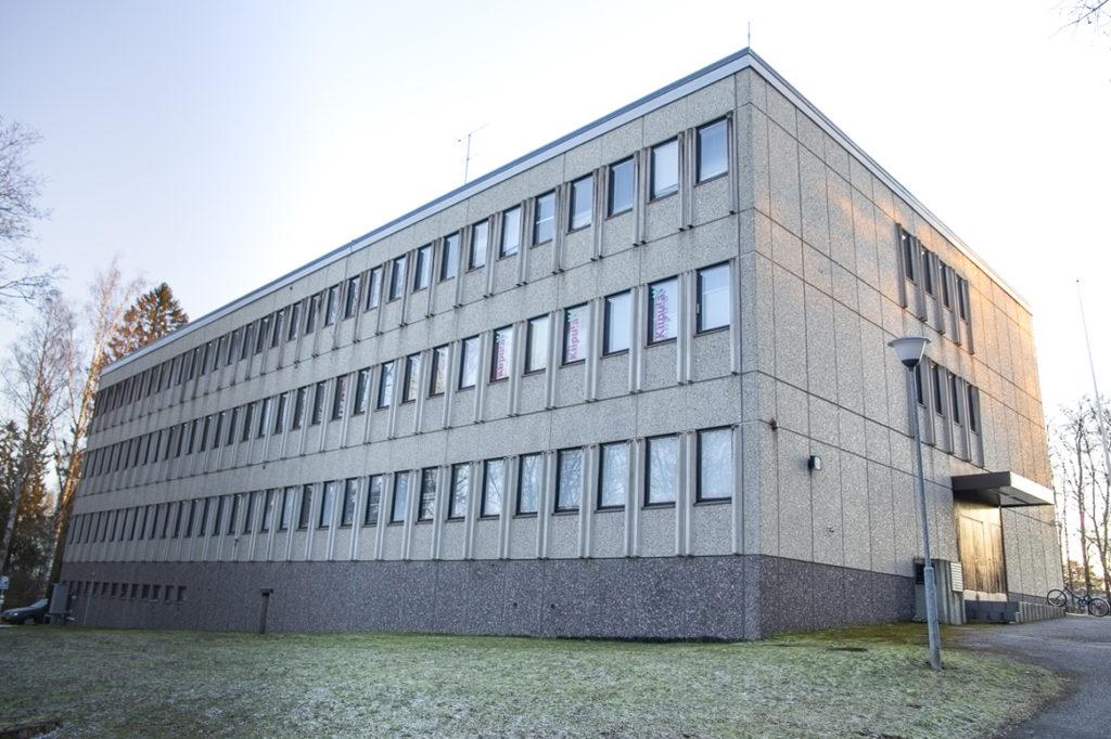 Kiipulan ammattiopiston toimipaikka Riihimäellä.