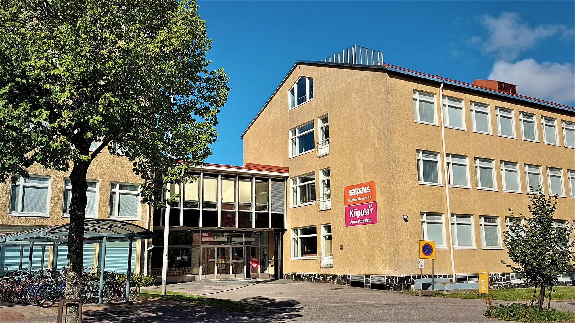 Lahden toimipaikka Ståhlberginkadulla.