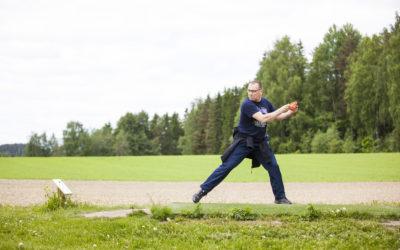 Kiipulan frisbeegolfrata suljettu 10.-11.9.2021