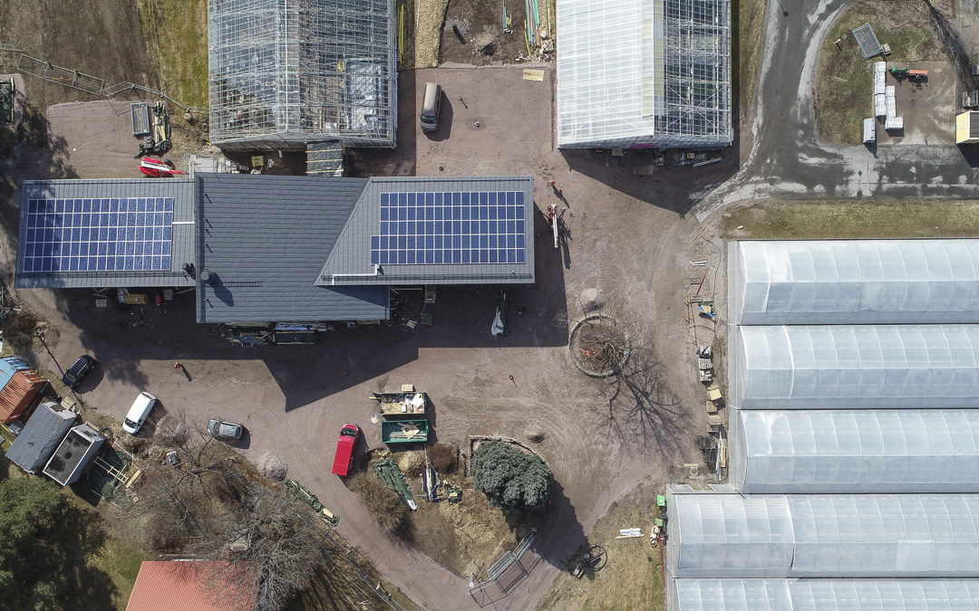 Kiipulassa otetaan käyttöön aurinkoenergia ja sähköautotolpat