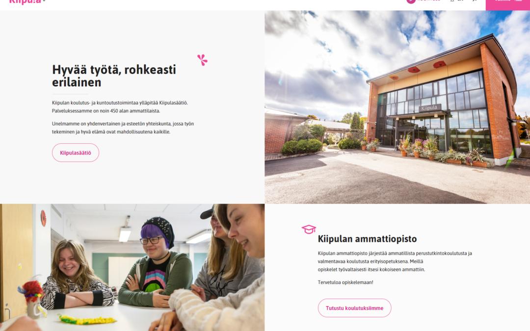 Uudistunut kiipula.fi